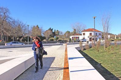 Public Square and Monument in Pedroso - Praça dos Combatentes Pedroso, micro atelier de arquitectura e arte