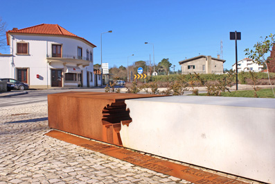 Public Square and Monument in Pedroso
