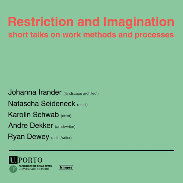 Restriction and Imagination | Meetings